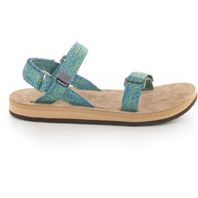 SOURCE Leather Urban Sandals Women green blur